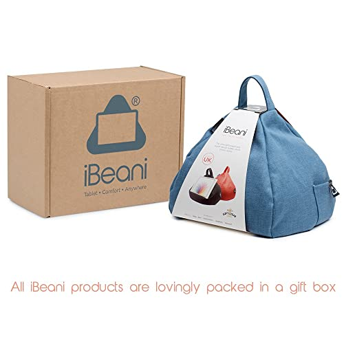 Football Bean Lazy iPad eReader /& Book Mini Bean Bag Fits All tablets and eReaders