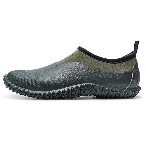 Lakeland Active Womens Grasmere Waterproof Slip On Garden Shoe with Comfortable Memory Foam Insole