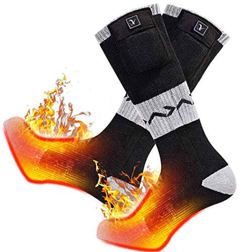 Walking Fishing Battery Powered Cold Weather Outdoor Warm Thicken Constant Temperature Thermal Socks Perfect For Skiing Electric Heated Socks