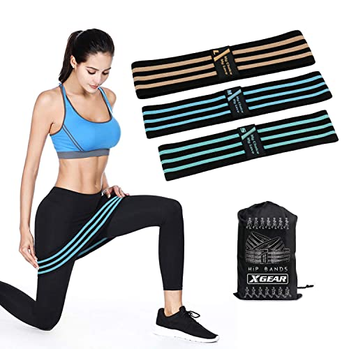 Resistance Band Heavy Duty Booty Band Non Slip Fabric Yoga Fitness Equipment UK