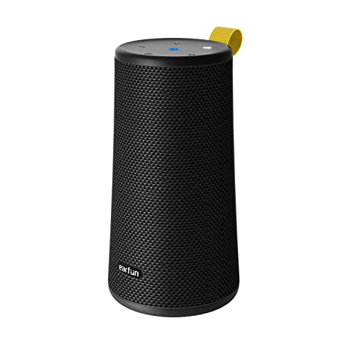 Bluetooth Speakers Earfun Uboom 360 Portable Wireless Speakers With 30m Bluetooth Range Ipx7 Waterproof Bluetooth 5 0 Wireless Dual Stereo Pairing 16h Playtime Built In Mic Usb C Port Buy Products