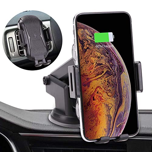 Compatible Car Dashboard Vent Phone Holder FIRBELY Wireless Charger Fast Charger Auto Clamp
