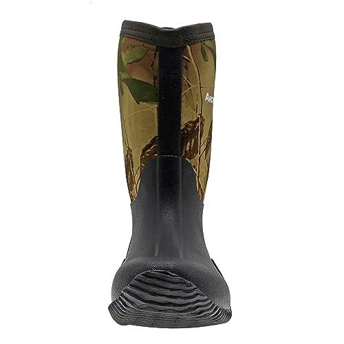 ArcticShield Kids Waterproof Durable Rubber Neoprene Outdoor Boots