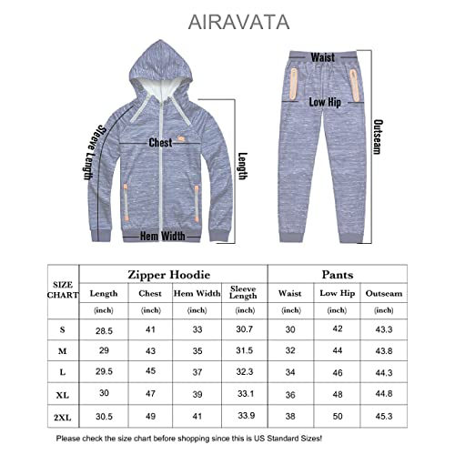 Yingqible Mens Sportwear Tracksuits Set Casual Pullover Hoodies Top Bottoms Jogging//Joggers Gym Sweat Suit Trousers